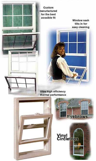 single hung windows dallas texas